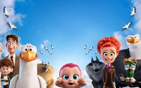 Картинка Fantasy, Jennifer Aniston, Wolves, Birds, Hunter, Baby, Girls, Family, Boy, EXCLUSIVE, Animation, Tulip, Man, Animals, …