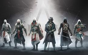 Картинка Assassins Creed, Ubisoft, Убийцы, Ассасины