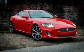 Картинка Jaguar, Red, Hotrod, Gloss, wrapped