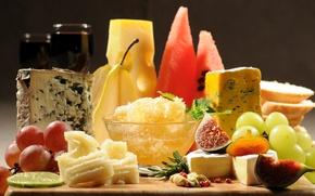 Обои сыр, сырная тарелка, французская кухня