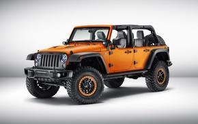Обои Concept, джип, концепт, Wrangler, Jeep, 2015, вранглер