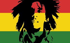 Картинка Bob Marley, Боб Марли, Rastafari