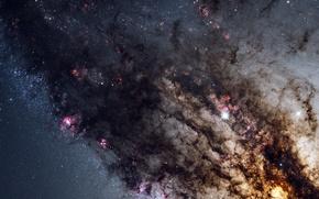 Картинка галактика, центр, Центавр А