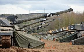 Картинка Challenger, Tanks, Defence