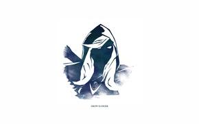 Картинка Traxex, Dota 2, Minimalism, Drow Ranger, Carry, Trueshot Aura, Gust, Marksmanship, Frost Arrows