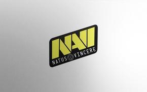 Картинка Логотип, Game, Team, Minimalism, CSGO, Natus Vincere, Na`Vi, Counter-Strike: Global Offensive, CS:GO, vent designs, Esports