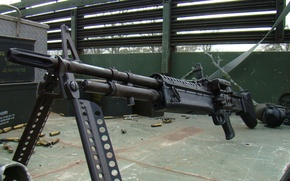 Картинка оружие, американский, пулемёт, machine gun, M60, единый