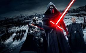 Картинка Star Wars, stormtrooper, lightsaber, sith, episode 7, Kylo Ren, Force Awakens, First Order