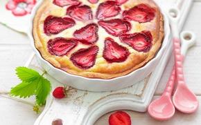 Обои food, dessert, десерт, сладкое, ягоды, strawberries, berries, sweet, еда, клубника