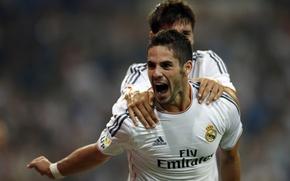 Картинка Спорт, Футбол, Real, Madrid, Реал, Мадрид, Талант, isco, Иско, Alvaro Morata, Альваро Мората