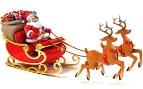 Картинка подарки, Новый год, new year, олени, merry christmas, gifts, Reindeer, vector art, с Рождеством Христовым, …
