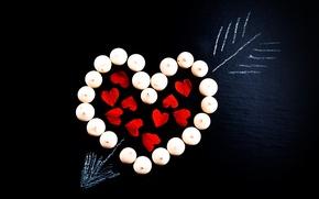 Картинка Сердце, День святого Валентина, Valentine's Day, Стрела