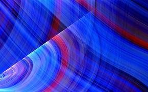 Картинка лучи, свет, линии, узор, цвет