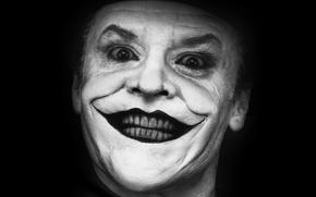 Картинка Улыбка, Джокер, Актер, Jack Nicholson, Джек Николсон