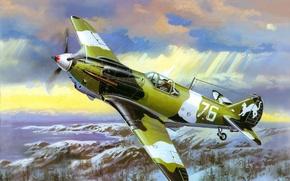 Картинка авиация, самолёт, великая отечественная война, Лагг-3