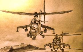 Картинка #Ми-24, #Сирия, #ВКС России