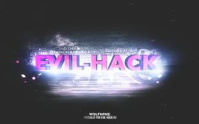 Картинка абстракция, обои, wallpaper, на рабочий стол, крутые обои, C4D, Evil-Hack, Hack, обои для windows 8., …