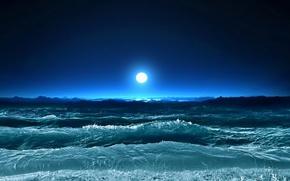 Картинка волны, природа, океан