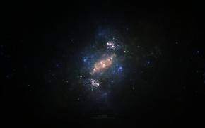 Картинка звезды, space, nebula, бесконечность, emptiness