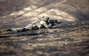 Картинка оружие, армия, солдат