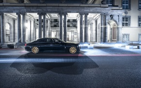 Картинка Rolls-Royce, Ghost, роллс-ройс, 2015, Spofec Black One
