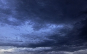 Картинка тучи, настроение, тишина, Небо, непогода