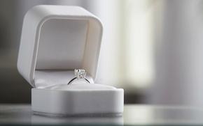 Картинка коробка, кольцо, украшение, свадьба