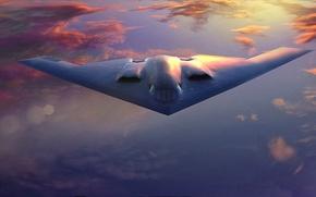Картинка Spirit, бомбардировщик, стратегический, B-2A