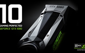 Обои nvidia, hi tech, geforce, graphics card, gtx 1080, Pascal architecture