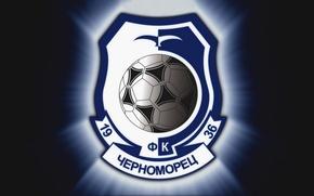 Картинка Футбол, Фон, Логотип, Одесса, Футбольный клуб, Черноморец