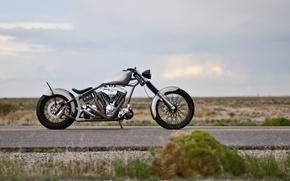 Картинка фон, мотоцикл, Chingon