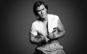 Картинка фотосессия, Chris Hemsworth, журнал«GQ»