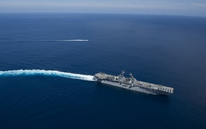 Картинка Pacific Ocean, USS Boxer, amphibious assault ship