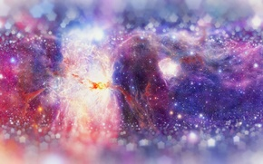 Картинка космос, звезды, туманность, галактика, nebula
