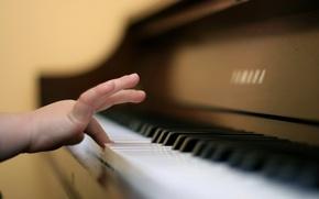 Картинка музыка, рука, пианино