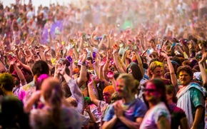 Картинка Festival of Colors, Spanish Fork