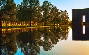 Картинка парк, США, Oklahoma City National Memorial, Западные Ворота