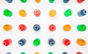 Обои цвет, фон, бутылки
