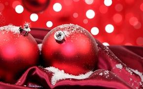 Обои праздник, фон, ёлочные украшения, обои, новый год, настроение, шары, торжество