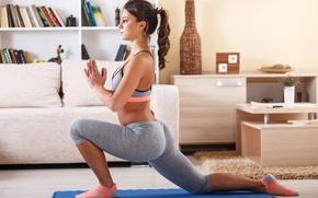 Картинка fitness, sportswear, elongation