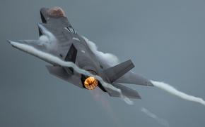 Обои оружие, самолёт, F-35A