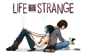 Картинка Game, Max, Price, Хлоя, Chloe, Макс, Life Is Strange, Caulfield, Колфилд, Прайс