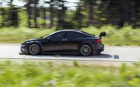 Картинка Volvo, Профиль, Black, S60, WTCC
