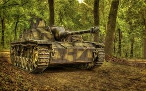 Картинка штурмовое, мировой, Второй, Ausf G, времён, StuG III, орудие, войны