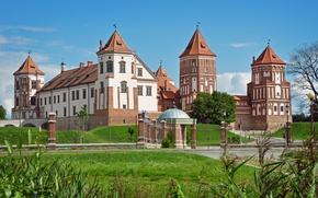 Картинка Беларусь, Мирский замок, Mirsky Castle Complex, Гродненская область