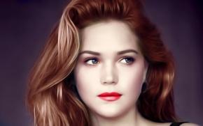 Картинка desktop, hot, girls, pretty, beauty, painting, models, pose, cute, gorgeous, actresses, beautifull girls, esti, esti ...