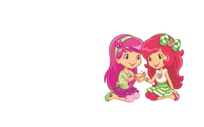 Картинка фон, подарок, арт, девочка, подружка, детская, фенечка, браслетик