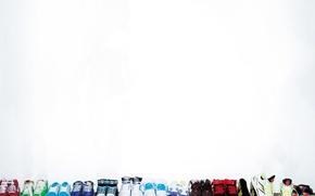 Картинка белый, обувь, кеды, много