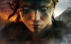 Картинка девушка, Ninja Theory, Hellblade
