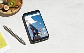 Картинка Android, 5.0, Motorola, 2014, Lollipop, Smartphone, Pen, by Google, Nexus 6